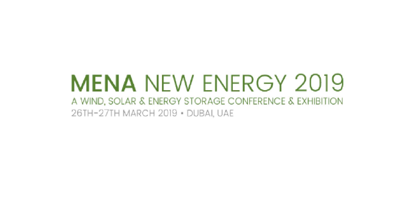 MENA New Energy Update 2019 – MESIA