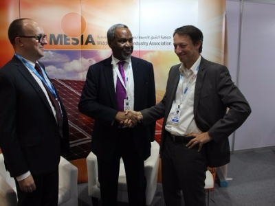 ARE MESIA signing ceremony