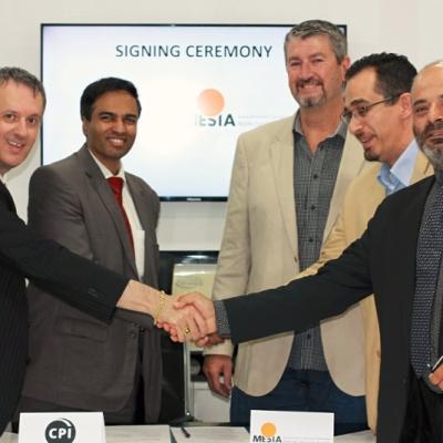 CPI - MESIA: Signing ceremony
