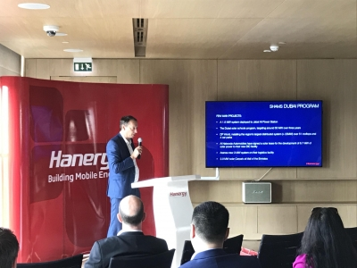 Hanwall Launched. MESIA Presents Stats of Solar in UAE