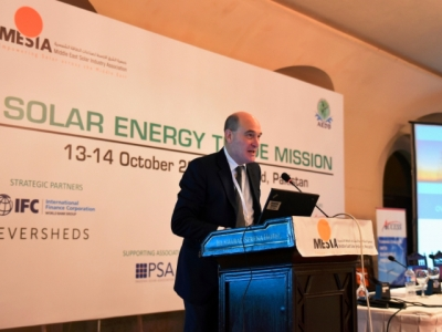 Solar Energy Trade Mission in Pakistan - October 2015